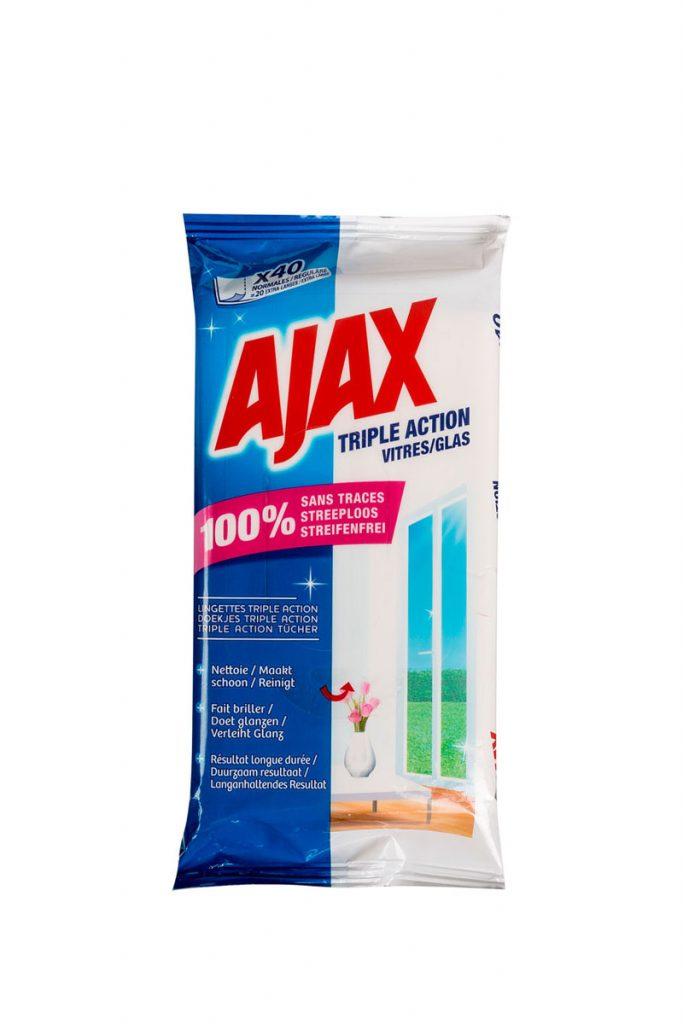 Ajax 10x40 lingettes