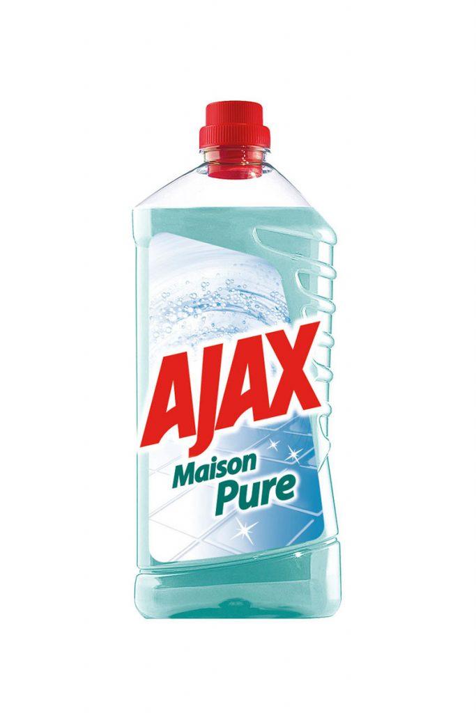 Ajax 6 nettoyants ménagers