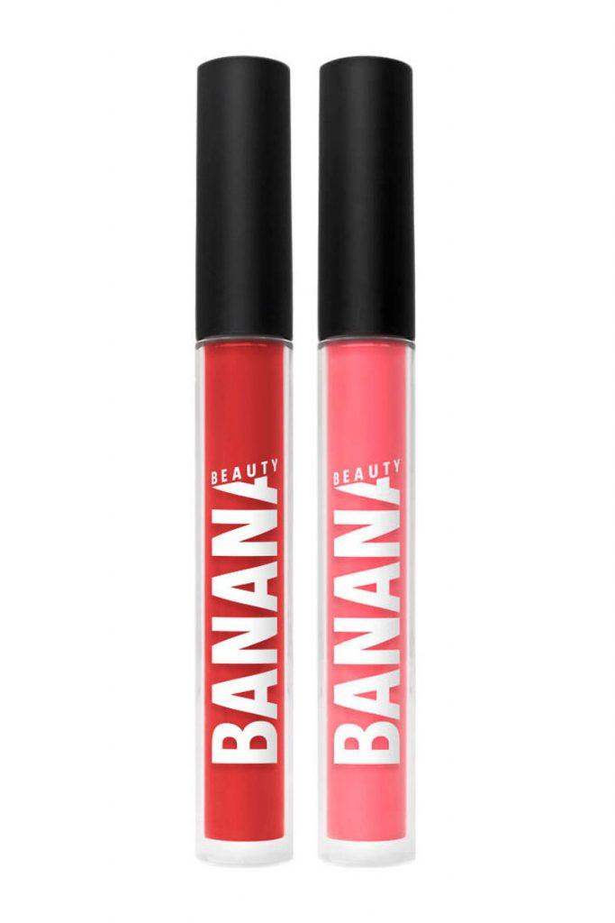 Banana Beauty 2 rouges à lèvres liquides