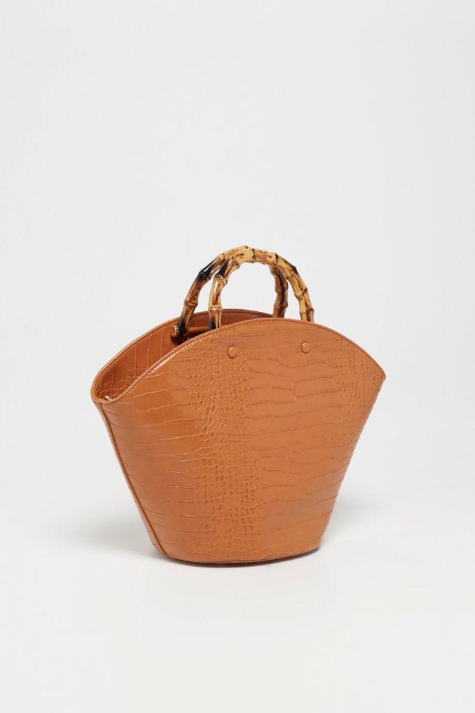 collectionIRL sac main poignée bambou