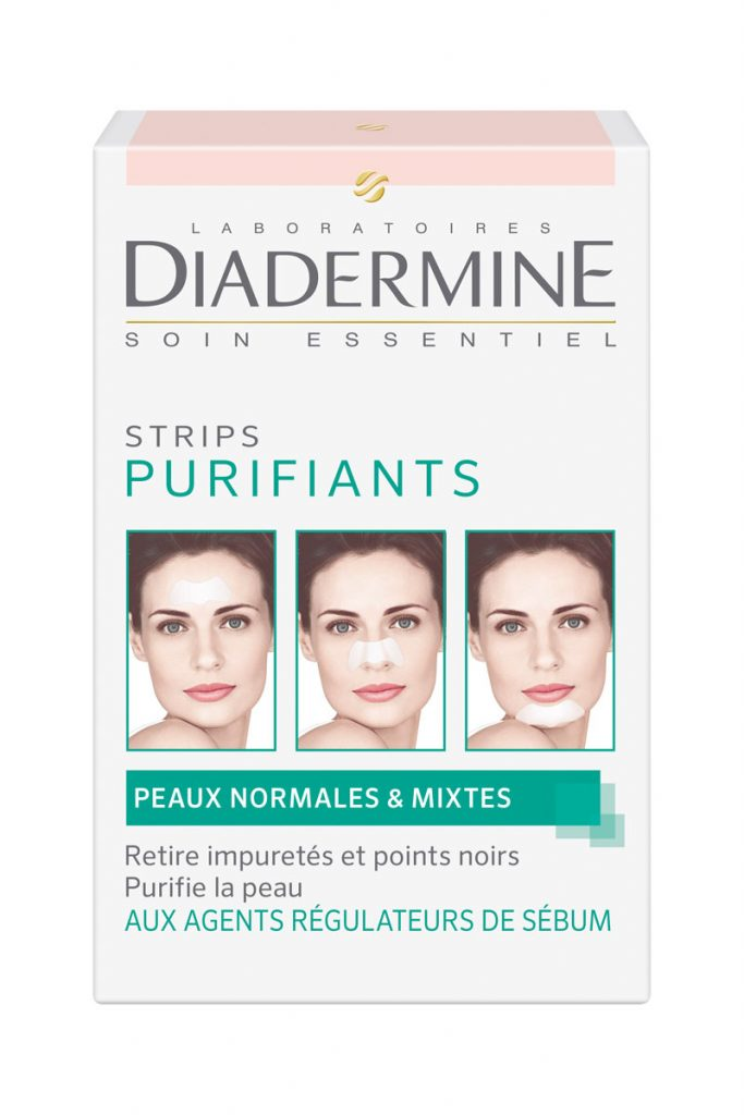 Diadermine 3 strips purifiants