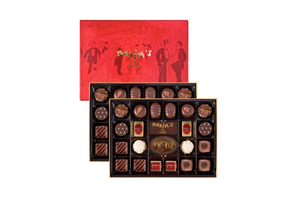 Maxim's boite luxe 44 chocolats assortis