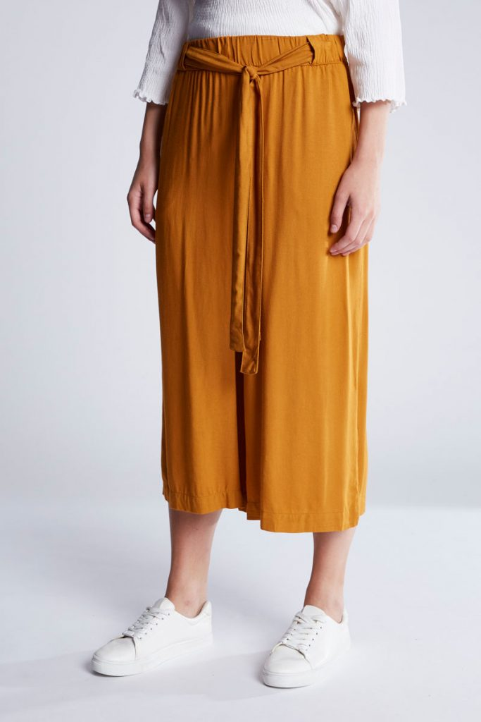 Pull & Bear pantalon wide legs 7/8