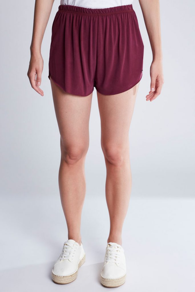 Pull & Bear short asymétrique