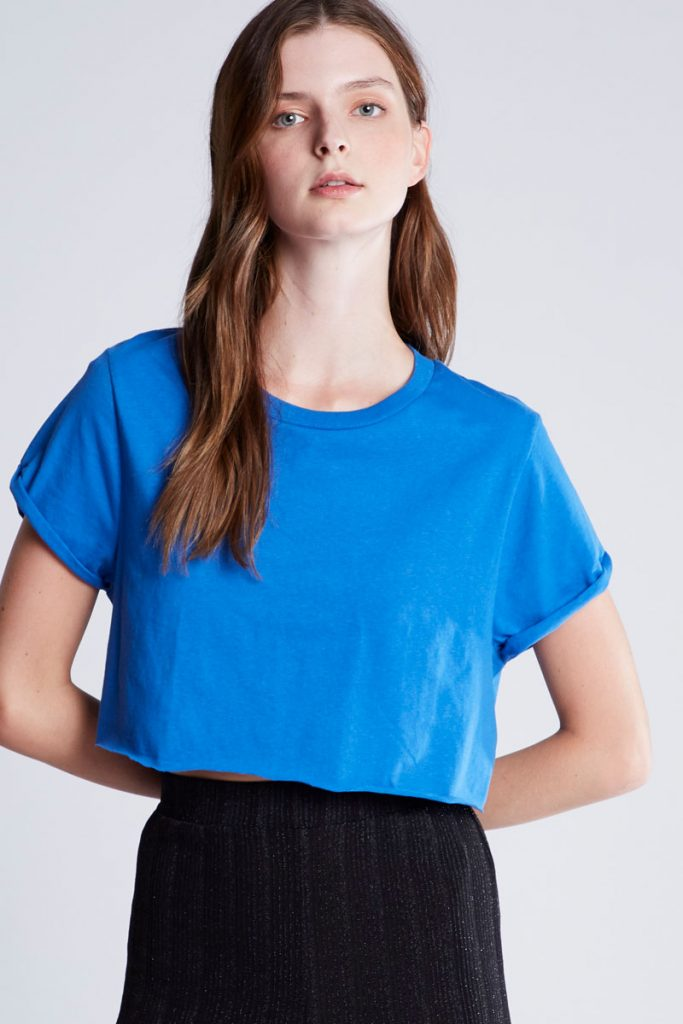 Pull & Bear t-shirt cropped