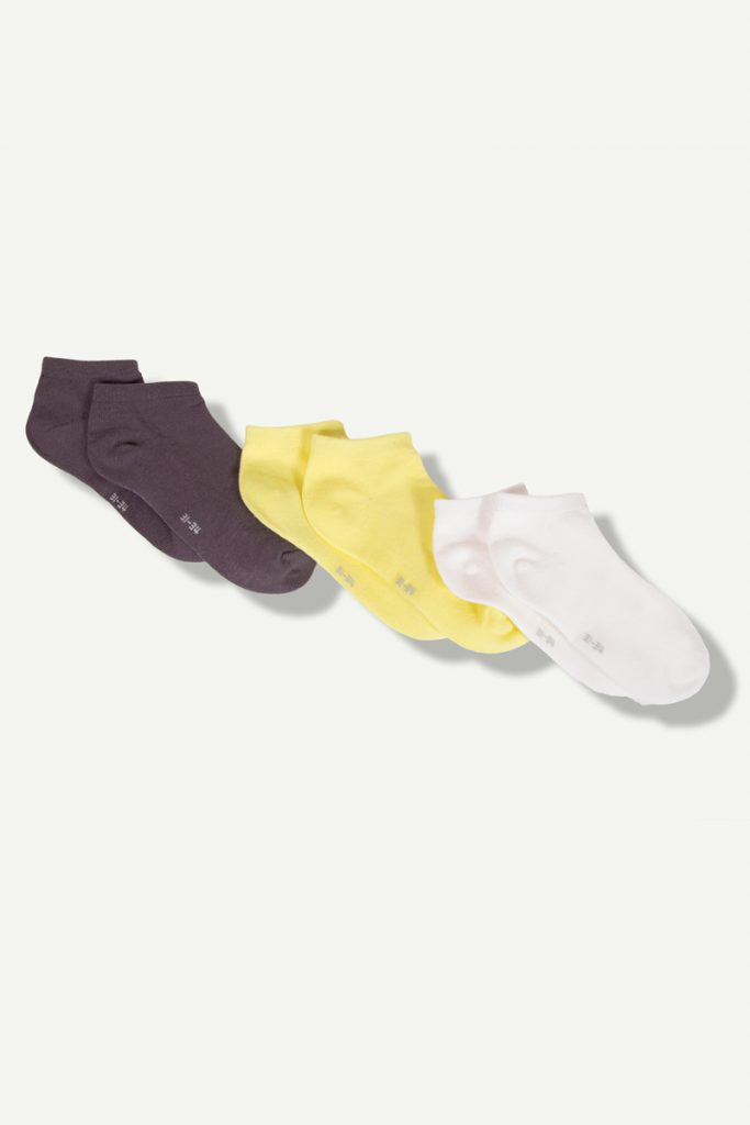 Z 3 paires de socquettes