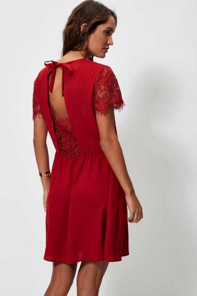 collectionIRL robe courte cintrée