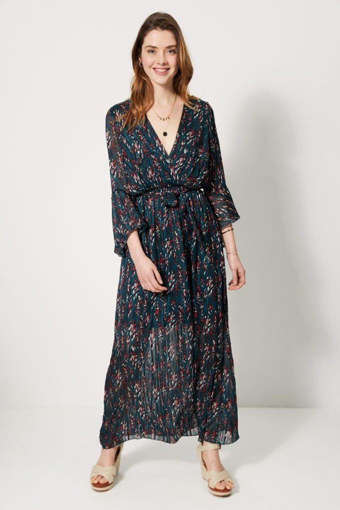 collectionIRL robe longue ceinturée