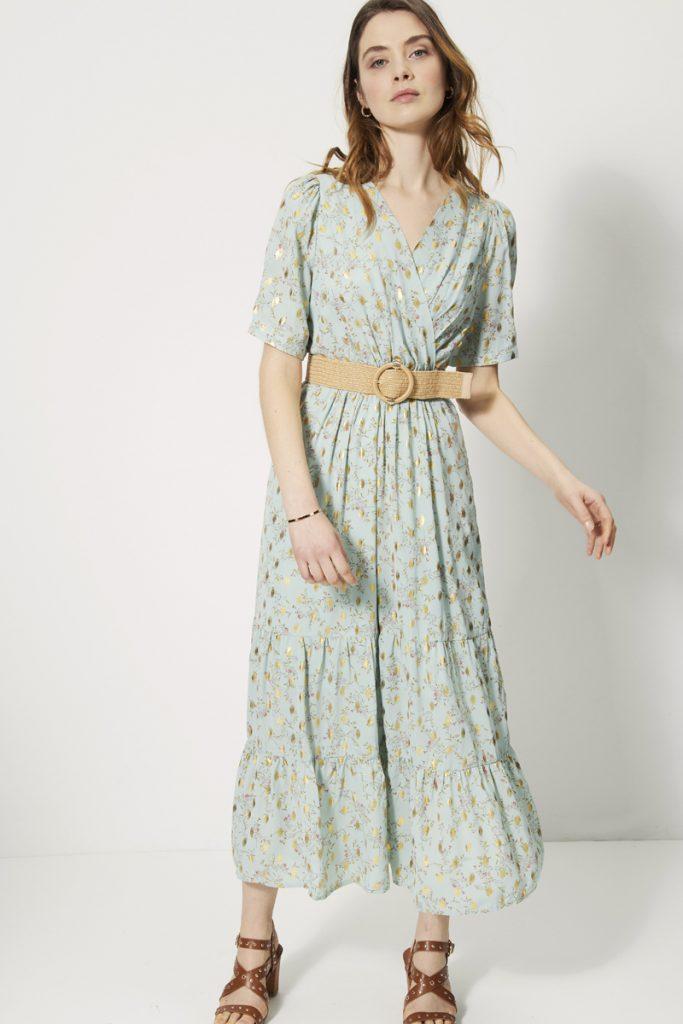 collectionIRL robe longue avec foils