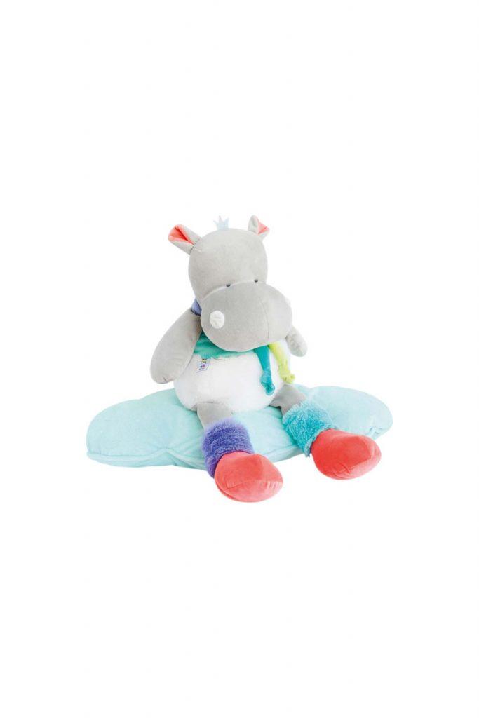Doudou et compagnie pantin hippopotame