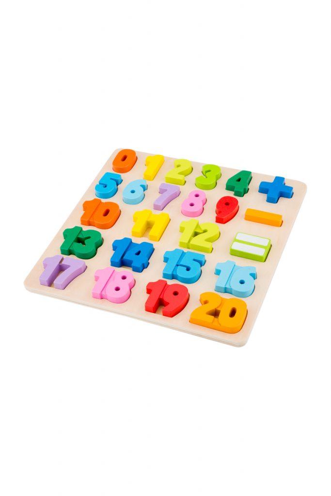 New Classic Toys puzzle nombre bois