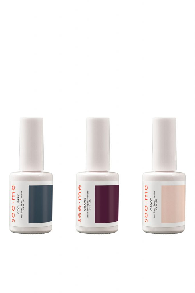 See me coffret 3 vernis semi-permanents