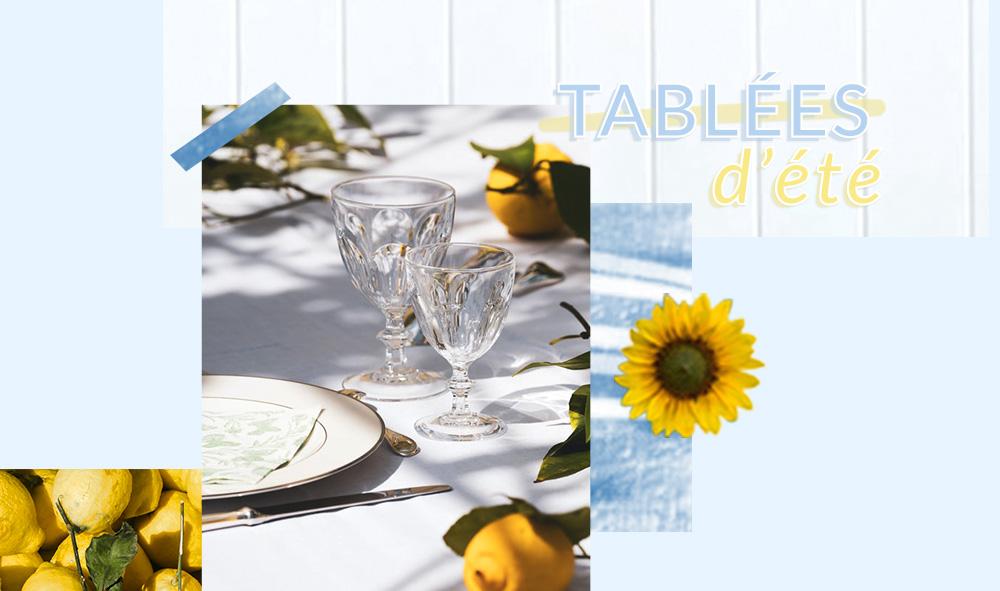 Fenêtre sur style : dressez vos plus belles tables cet été !