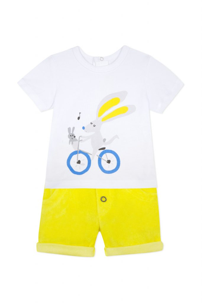 Catimini t-shirt et short
