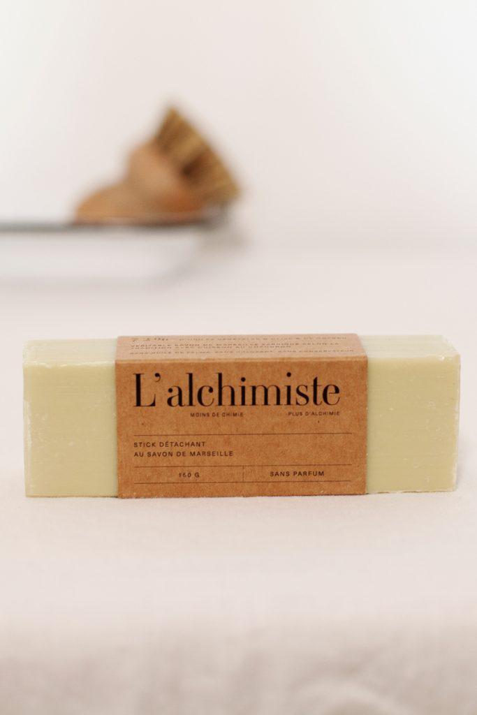 L'alchimiste stick détachant au savon de Marseille