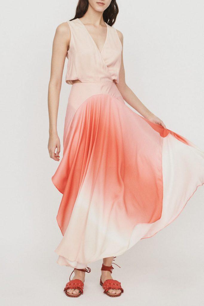 Maje robe longue