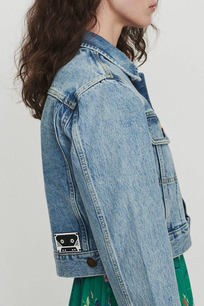 Maje veste en jean