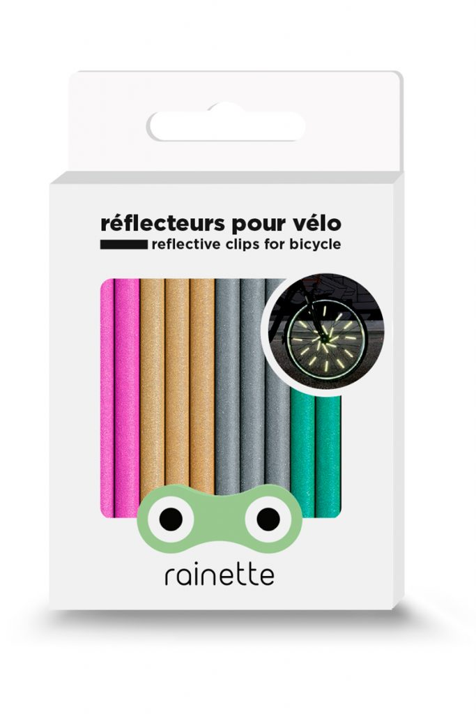 Rainette réflecteur pour vélos