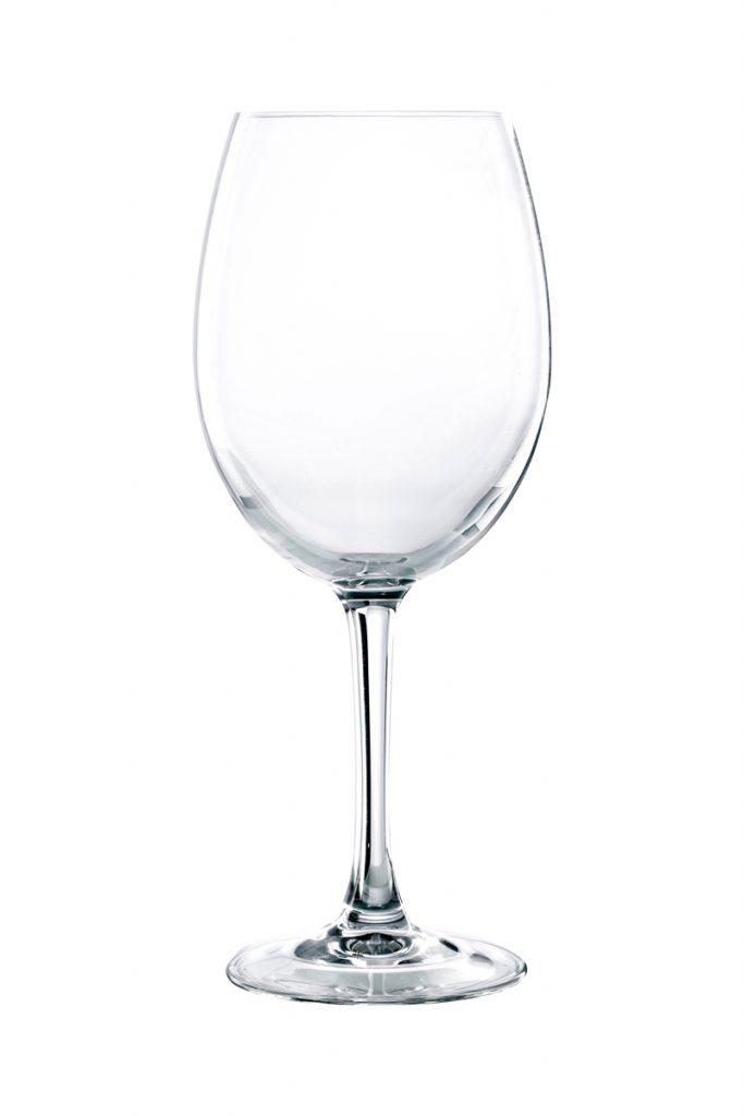 Table Hôtelière 6 verres à vin