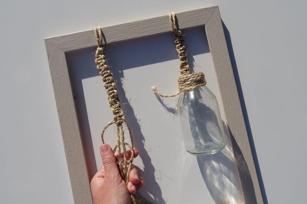 #RecyclezChezVous : un DIY de vases suspendus parfait pour l'été !