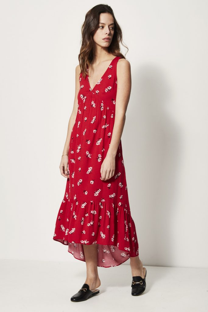 collectionIRL robe longue fleurie