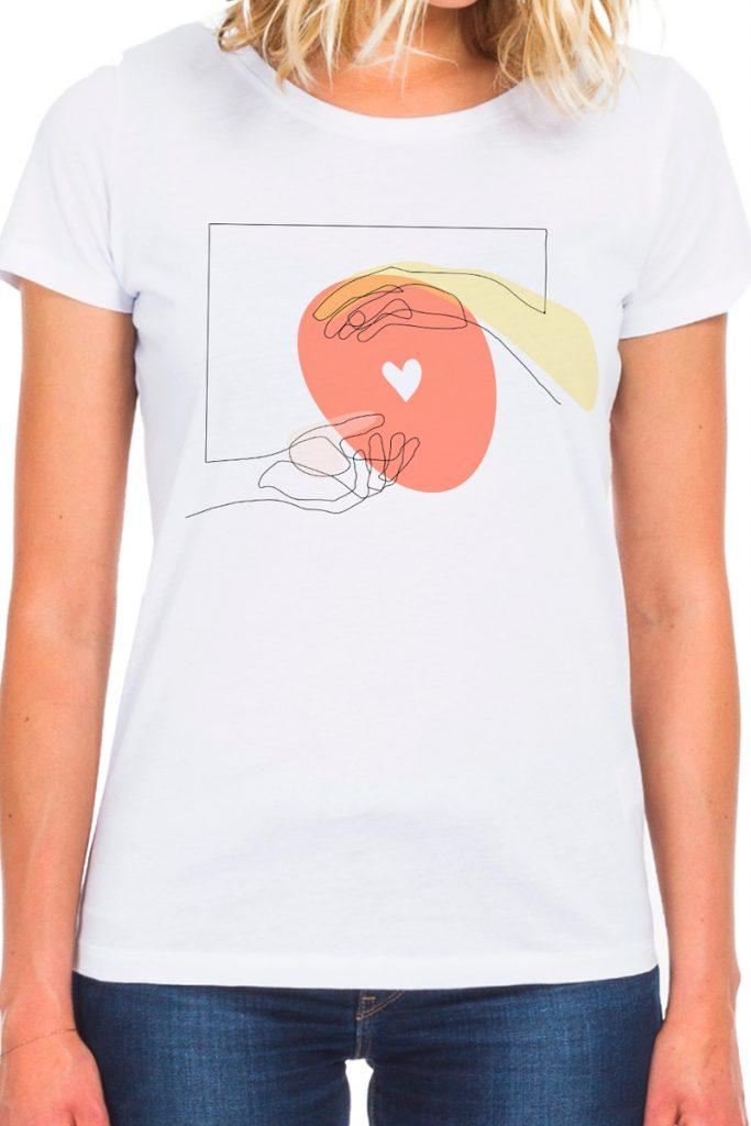 collectionIRL x Fondation de France t-shirt du coton biologique