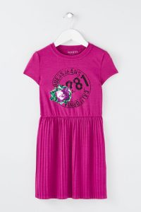 Guess kids robe plissée
