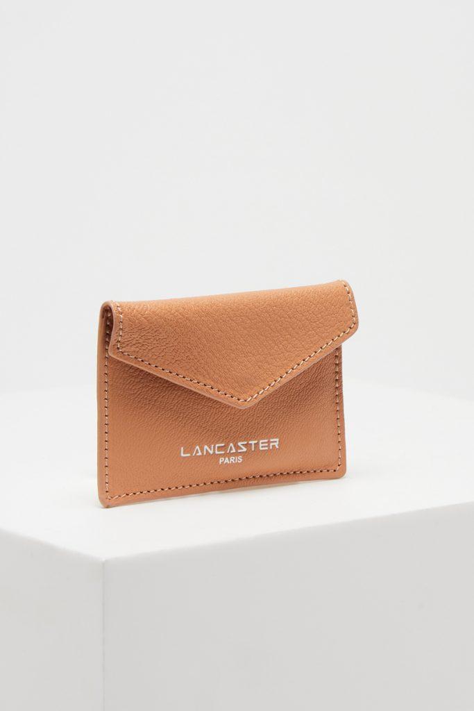 Lancaster porte-cartes en cuir de chèvre