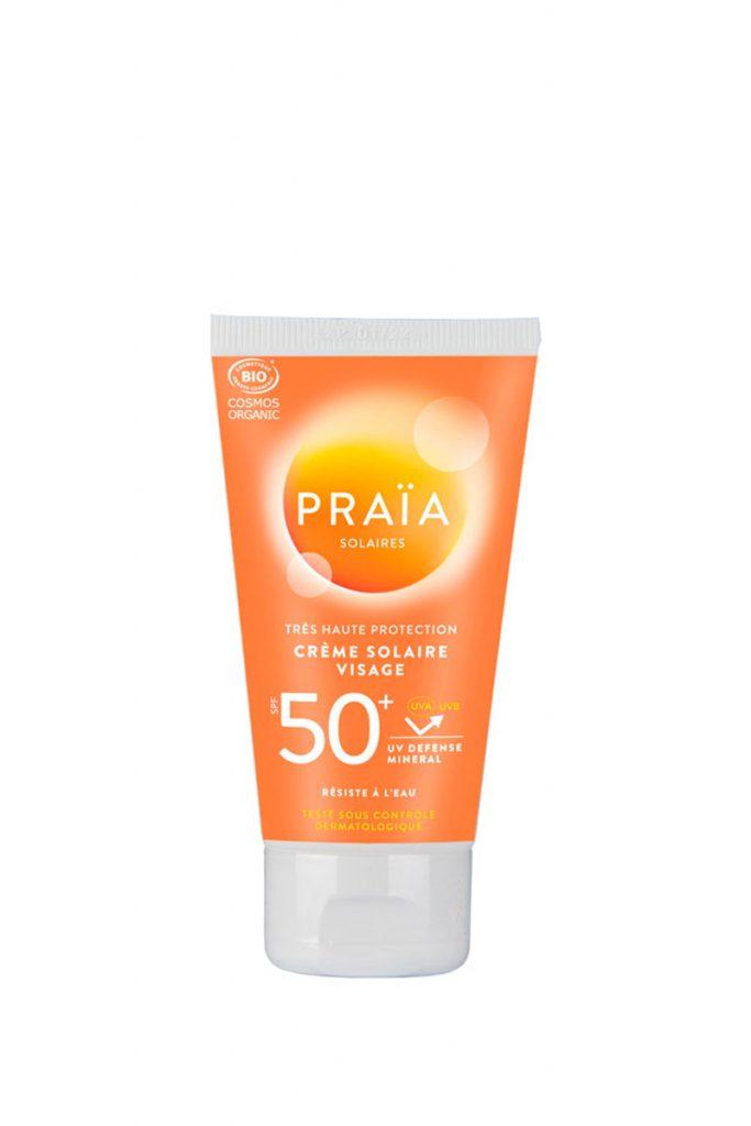 Logona crème solaire visage