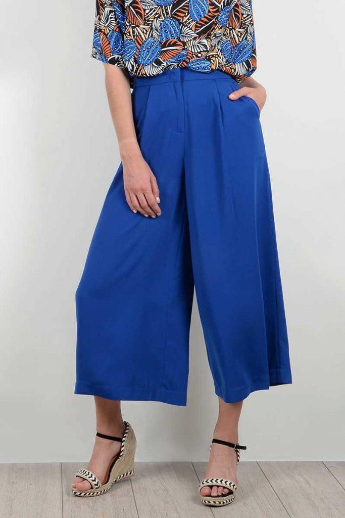 Molly Bracken pantalon wide legs 7/8