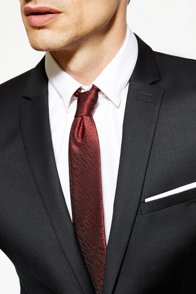 The Kooples cravate en soie