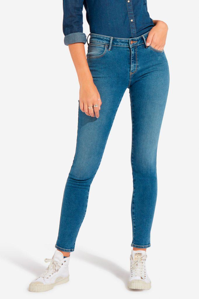 Wrangler jean skinny 7/8