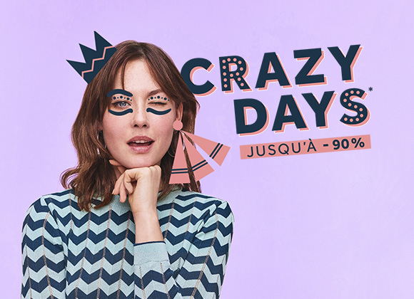 Crazy Days : prêt.e pour une session shopping de folie ?