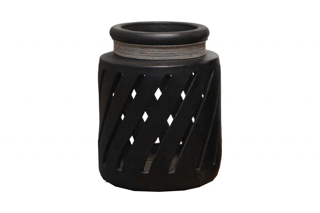 Alizéa lanterne en terre cuite