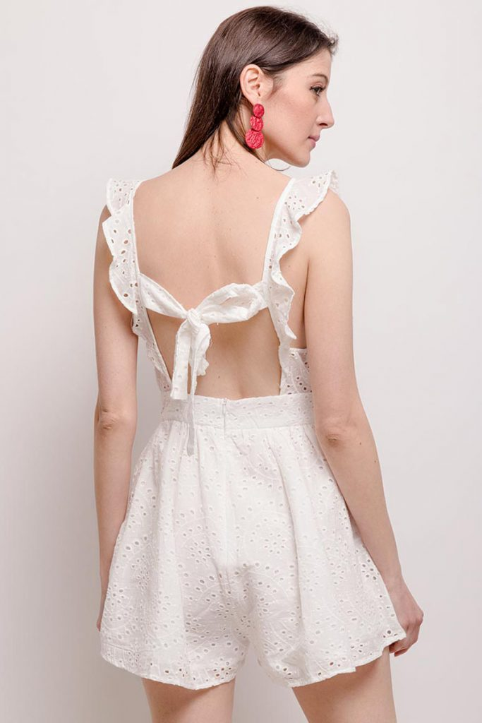collectionIRL combishort broderie anglaise