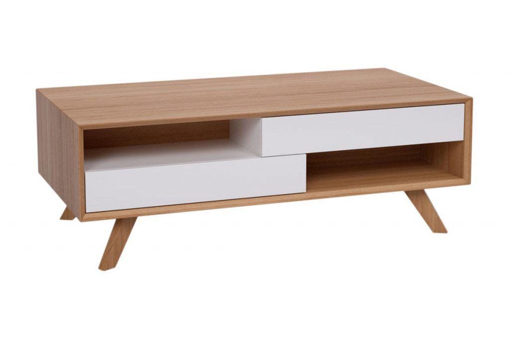 Les bons plans meuble table basse 2 tiroirs