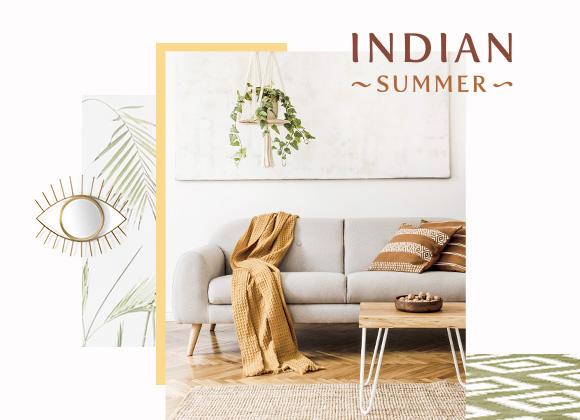 Fenêtre sur style : une touche d'Indian Summer dans votre intérieur ?