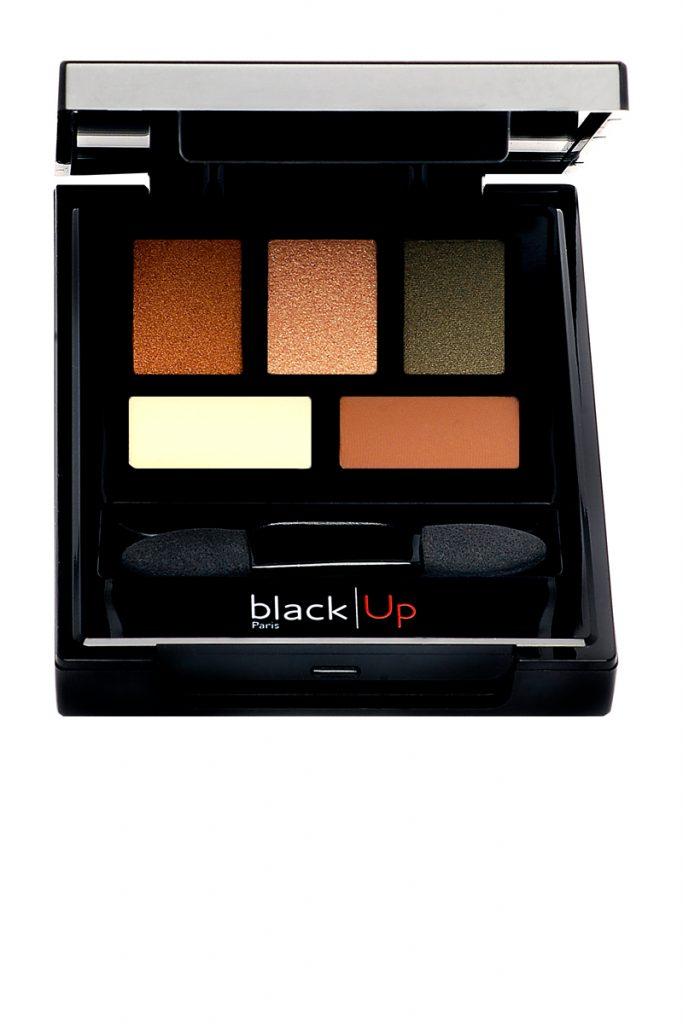 BlackUp palette ombres 5 couleurs