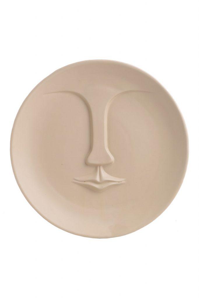 Ma Jolie déco des cyclades visage en céramique