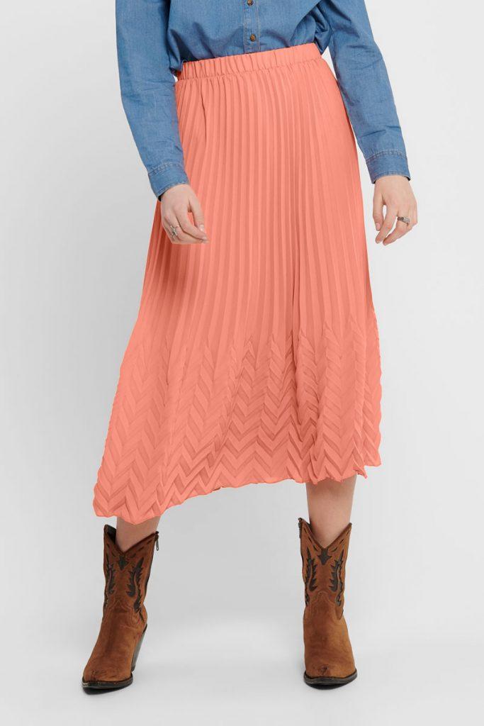 Only jupe plissée