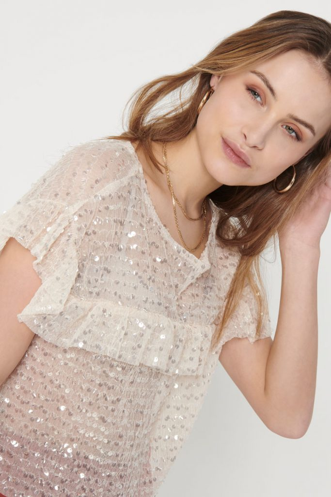 Only top à sequins