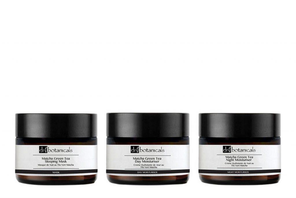 Dr Botanicals trio crèmes jour, nuit, masque