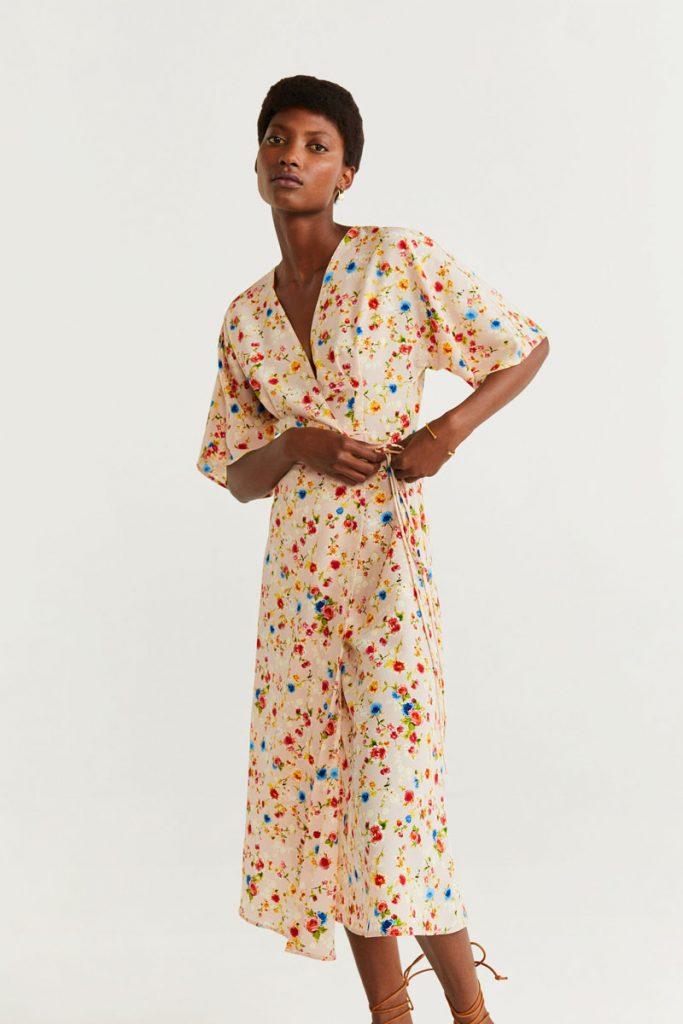 Mango robe portefeuille