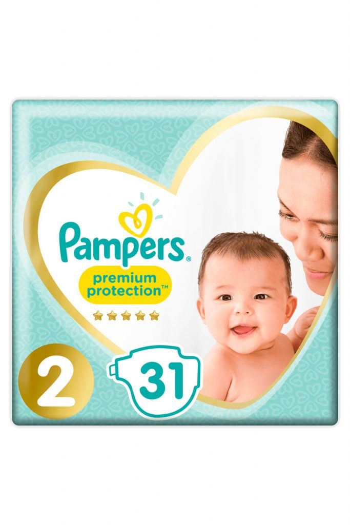 Pampers 248 couches